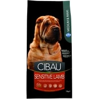 Cibau Adult Sensitive cu Miel Medium&Maxi, 12 kg