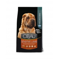 Cibau Sensitive Medium/Maxi cu Miel, 2.5 Kg