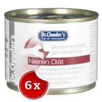Pachet 6 Conserve Dr. Clauder's Renal, 200 g