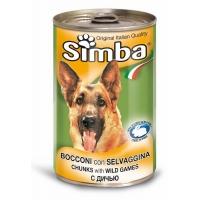 Conserva Simba Dog  cu Vanat 1230 g