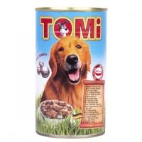 Conserva Tomi Dog cu 5 Feluri de Carne, 1.2 kg