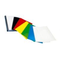 Coperta carton lucios 250g/mp, A4, 100/top OPUS - albastru