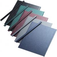 Sina metalica structura panzata, A4,  61-90 pag.(10 mm) 10 buc/set, Metal -BIND OPUS - albastru
