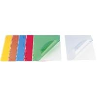 Coperta plastic A4, 200 microni, 100/top OPUS - fumuriu transparent