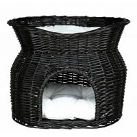 Trixie Cos etajat Din Rachita 54*43*37cm, Negru