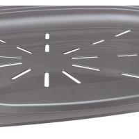 Cos Plastic Siesta Deluxe12 Argintiu (111 X 80,5 X h33,5 cm)