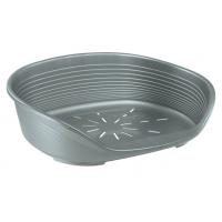 Cos Plastic Siesta Deluxe 10 Argintiu (93.5 X 68 X h28.5 cm)