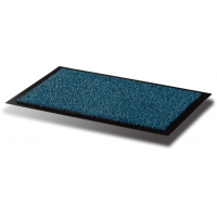 Covoras intrare, pentru praf, polipropilena/vinil, 90 x 120cm, FLOORTEX - albastru