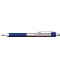Creion mecanic metalic cu rubber grip, 0,5mm, varf metalic, PENAC Pepe - accesorii bleumarin