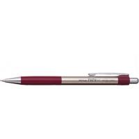 Creion mecanic metalic cu rubber grip, 0,5mm, varf metalic, PENAC Pepe - accesorii bordeaux