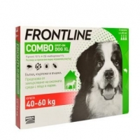 Frontline Combo XL Caine 40 - 60 kg, 3 pipete