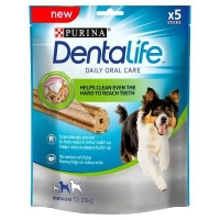 Dentalife Recompense Pentru Caini De Talie Medie, 115 g
