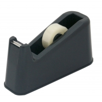 Dispenser de birou T20031, pentru banda adeziva max. 25mm x 66 m - negru