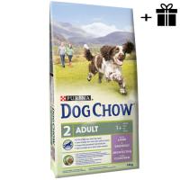Dog Chow Adult Miel 14 kg + 2 x Conserva Petkult Adult cu Vita 800 g