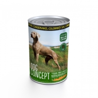 Dog Concept Conserva Pasare, Vanat si Morcovi, 415 g