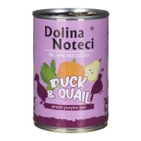 Dolina Noteci Superfood Dog Rata si Prepelita 400 g