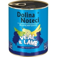 Dolina Noteci Superfood Dog Vitel si Miel 400 g