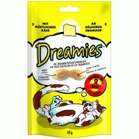 Recompense Dreamies cu Branza 60 g