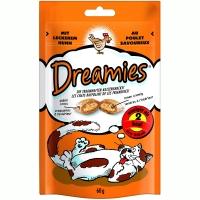 Recompense Dreamies cu Pui 60 g