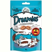 Recompense Dreamies cu Somon 60 g