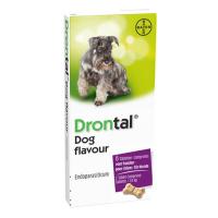 Drontal Dog Flavour, 6 tablete