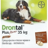 DRONTAL PLUS XL - 2 TABLETE