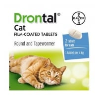 DRONTAL CAT - 2 TABLETE