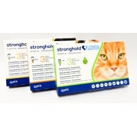 Stronghold Plus Pisica 60 mg, 5-10 kg, 1 ml, 3 pipete
