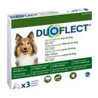 DUOFLECT, spot-on, soluție antiparazitară, câini 20-40kg, 3 pipete