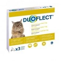 DUOFLECT, spot-on, soluție antiparazitară, pisici 0.5-5kg, 3 pipete
