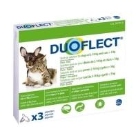 DUOFLECT, spot-on, soluție antiparazitară, pisici >5kg și câini 2-10kg, 3 pipete