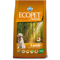 Ecopet Natural Lamb Mini, 12 kg