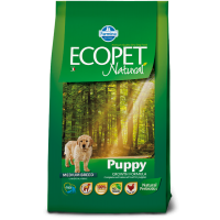 Ecopet Natural Puppy Medium, 12 kg
