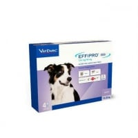 Effipro Duo Dog Virbac M (10-20 kg), 4 pipete