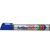 Permanent marker varf tesit, 2,0-5,0mm, corp plastic, ARTLINE 109 - albastru