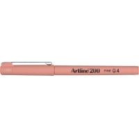 Liner ARTLINE 200, varf fetru 0.4mm - galben-portocaliu
