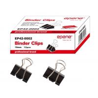 Clip hartie 19mm, 12buc/cutie, EPENE - negru