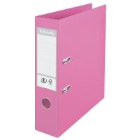 Biblioraft A4, plastifiat PP/PP, margine metalica, 75 mm, ESSELTE No. 1 Power - violet
