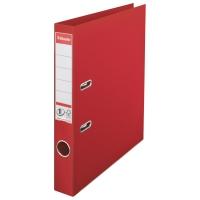 Biblioraft A4, plastifiat PP/PP, margine metalica, 50 mm, ESSELTE No. 1 Power - rosu