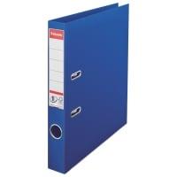Biblioraft A4, plastifiat PP/PP, margine metalica, 50 mm, ESSELTE No. 1 Power - albastru