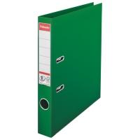 Biblioraft A4, plastifiat PP/PP, margine metalica, 50 mm, ESSELTE No. 1 Power - verde