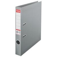 Biblioraft A4, plastifiat PP/PP, margine metalica, 50 mm, ESSELTE No. 1 Power - gri