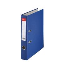 Biblioraft A4, plastifiat PP, margine metalica, 50 mm, ESSELTE Economy - albastru