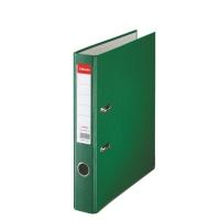 Biblioraft A4, plastifiat PP, margine metalica, 50 mm, ESSELTE Economy - verde