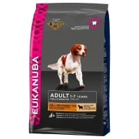 Eukanuba Adult Small and Medium Miel si Orez 12 kg