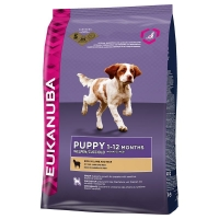 Eukanuba Puppy All Breed Miel si Orez 12 kg