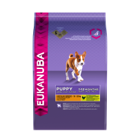 Eukanuba Puppy & Junior Medium Breed cu Pui 15 kg
