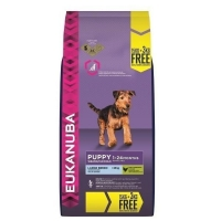 Eukanuba Puppy Large Breed 15 kg + 3kg GRATUIT