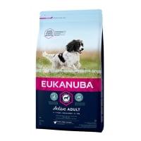 Eukanuba Adult Small & Mediu cu Pui, 12 kg