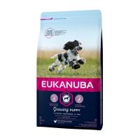 Eukanuba Puppy Medium cu Pui, 15 kg